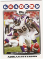 2008 Topps #290 Adrian Peterson LL