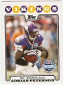 2008 Topps #298 Adrian Peterson PB