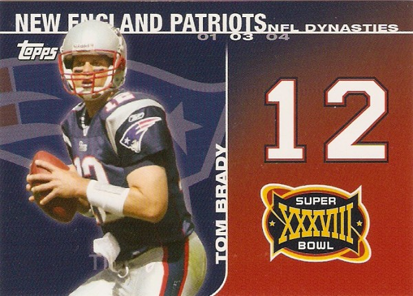 2008 Topps Dynasties #DYNTB Tom Brady