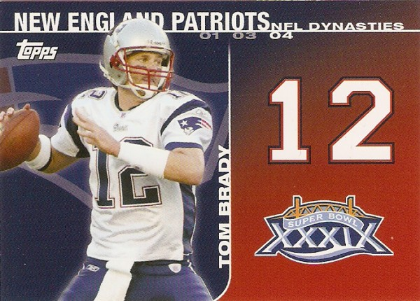 2008 Topps Dynasties #DYNTB2 Tom Brady