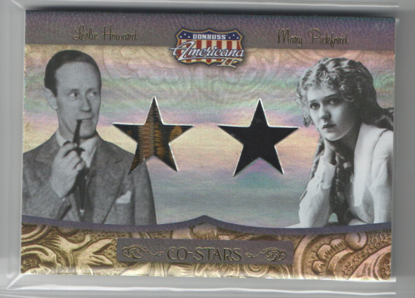 2008 Americana II Co-Stars Material #17 Leslie Howard/Mary Pickford/250