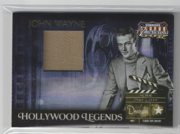 2008 Americana II Hollywood Legends Material #41 John Wayne/500