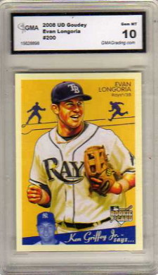2008 Upper Deck Goudey #200 Evan Longoria RC