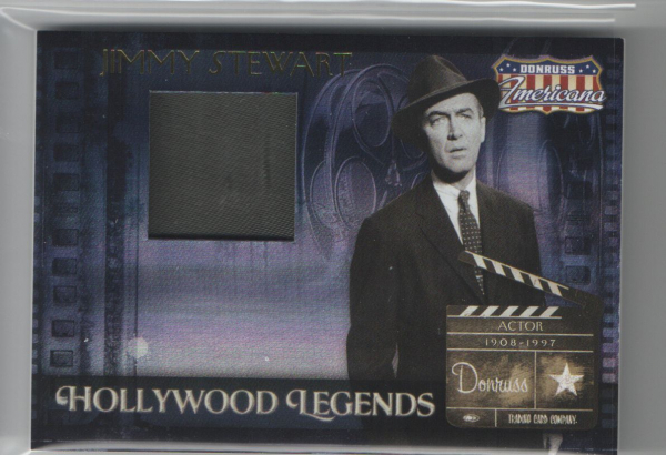 2007 Americana Hollywood Legends Material #37 Jimmy Stewart Coat/325