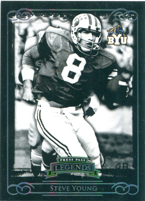 2008 Press Pass Legends Silver Holofoil #56 Steve Young