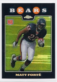 2008 Topps Chrome Refractors #TC191 Matt Forte