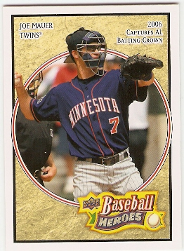 2008 Upper Deck Heroes #101 Joe Mauer