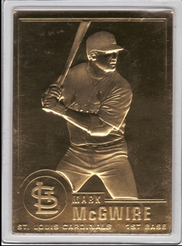 1996-03 Danbury Mint #80 Mark McGwire