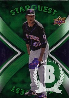 2008 Upper Deck First Edition Star Quest #SQ55 Pedro Martinez