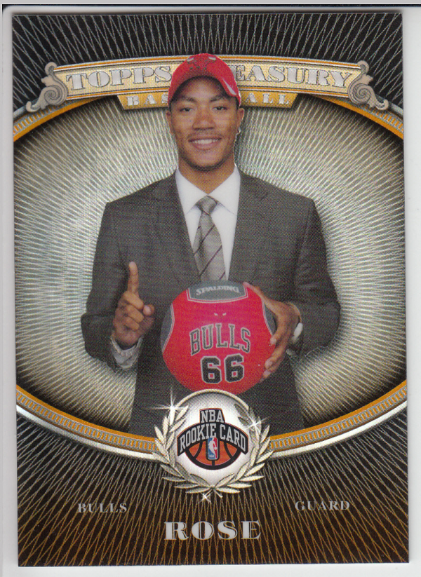 2008-09 Topps Treasury Refractors Bronze #101 Derrick Rose