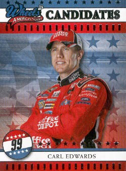 2008 Wheels American Thunder #10 Carl Edwards