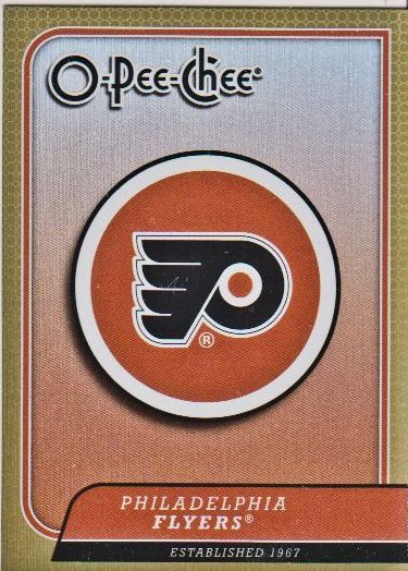 2008-09 O-Pee-Chee Team Checklists #CL22 Philadelphia Flyers