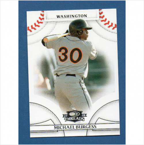 2008 Donruss Threads #54 Michael Burgess