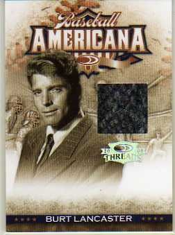 2008 Donruss Threads Baseball Americana Materials #22 Burt Lancaster/500