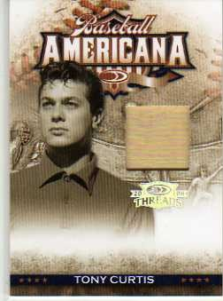 2008 Donruss Threads Baseball Americana Materials #25 Tony Curtis/500