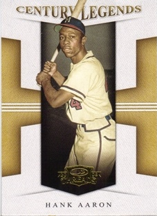 2008 Donruss Threads Century Legends #3 Hank Aaron
