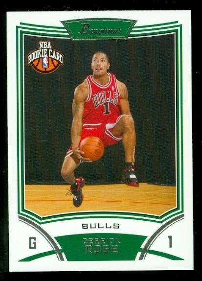 2008-09 Bowman #111 Derrick Rose RC