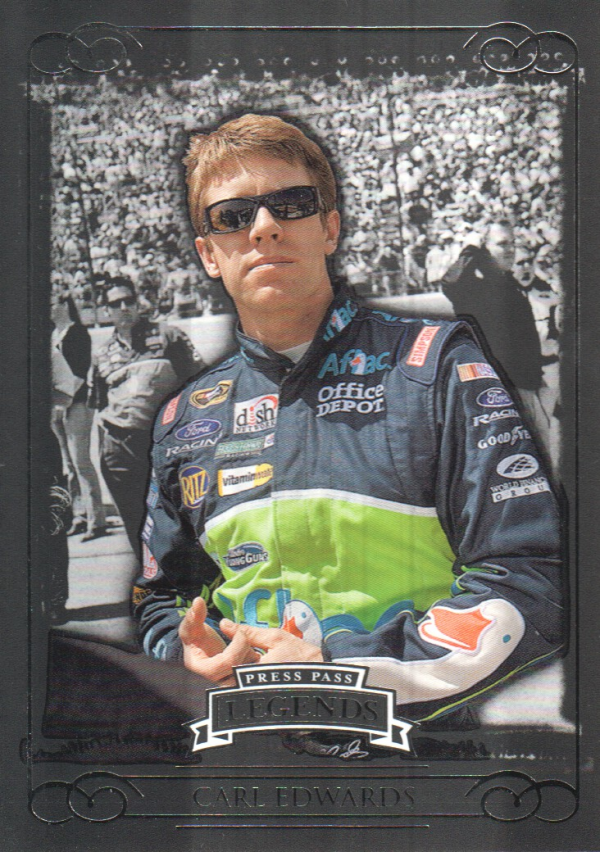 2008 Press Pass Legends #48 Carl Edwards