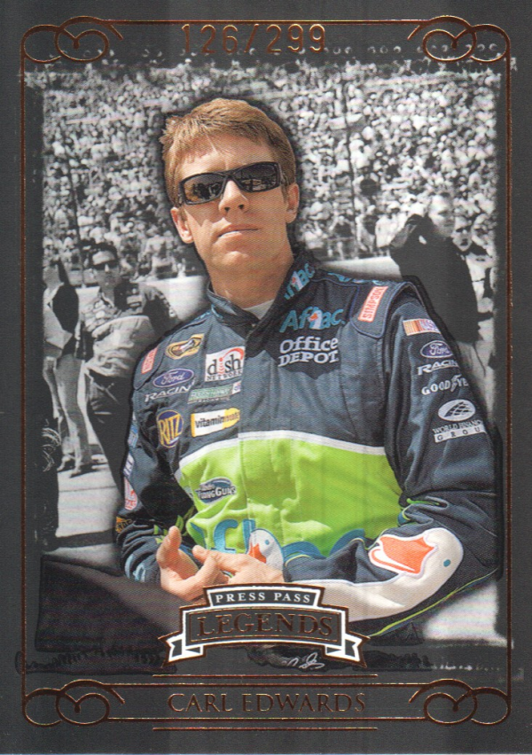 2008 Press Pass Legends Bronze #48 Carl Edwards