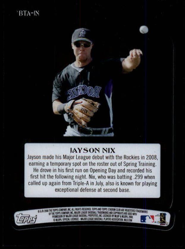 2008-Stadium-Club-Baseball-Beam-Team-Autograph-Singles-Pick-Your-Cards thumbnail 5