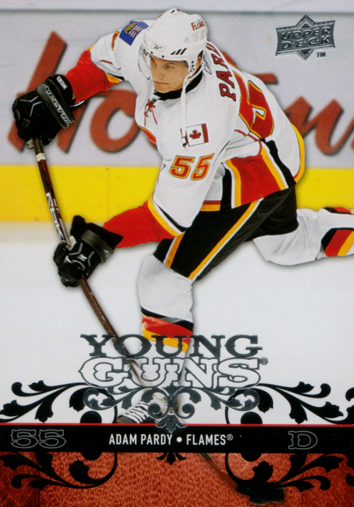 2008-09 Upper Deck #203 Adam Pardy YG RC