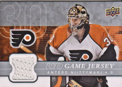 2008-09 Upper Deck Game Jerseys #GJAN Antero Niittymaki