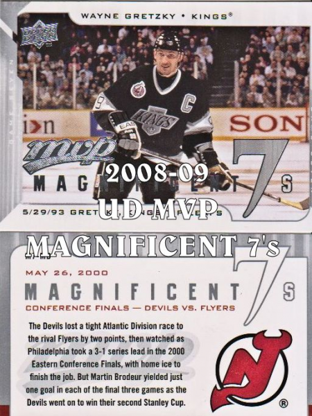 2008-09 Upper Deck MVP Magnificent Sevens #M7CP Carey Price