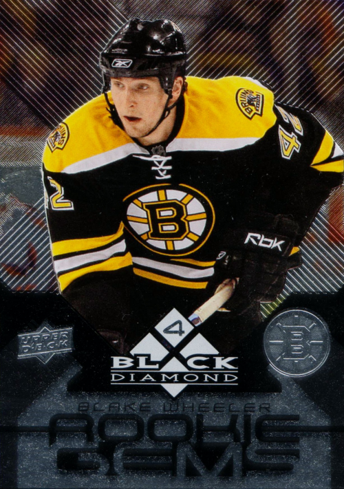 2008-09 Black Diamond #191 Blake Wheeler RC