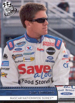 2009 Press Pass #43 Carl Edwards NNS