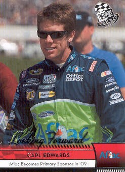 2009 Press Pass #81 Carl Edwards LF