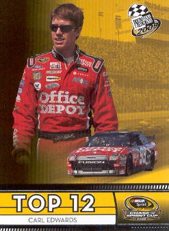 2009 Press Pass #108 Carl Edwards TT