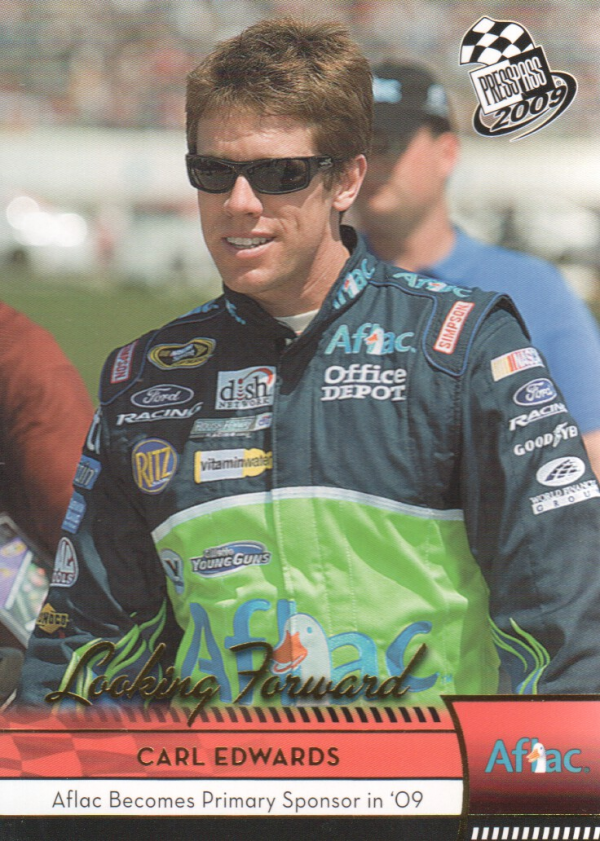 2009 Press Pass Gold #81 Carl Edwards LF