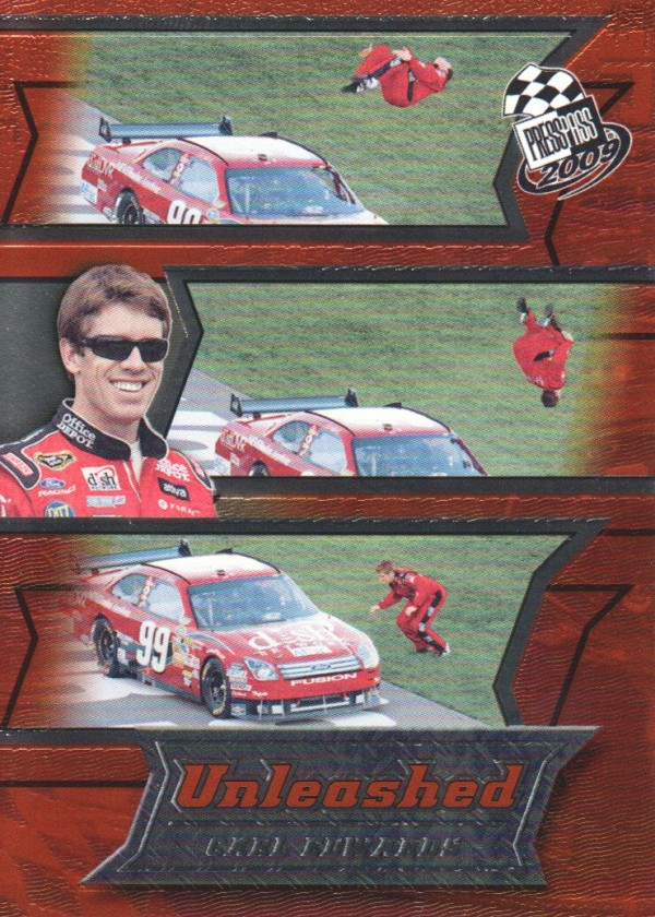 2009 Press Pass Unleashed #U3 Carl Edwards