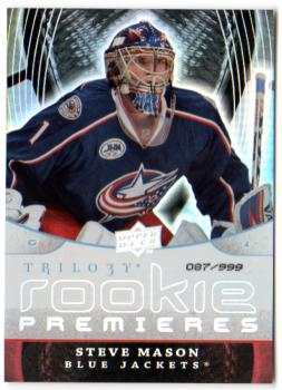 2008-09 Upper Deck Trilogy #149 Steve Mason RC
