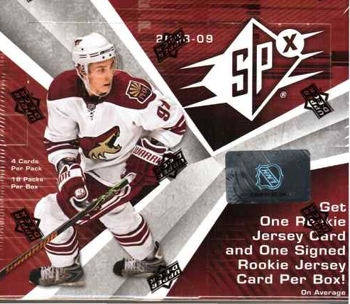 2008-09 SPx Hockey Hobby Box