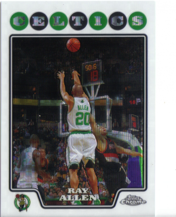 2008-09 Topps Chrome X-Fractors #20 Ray Allen