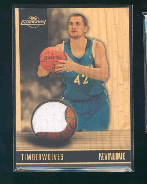 2008-09 Topps Hardwood Relics #HRKL Kevin Love