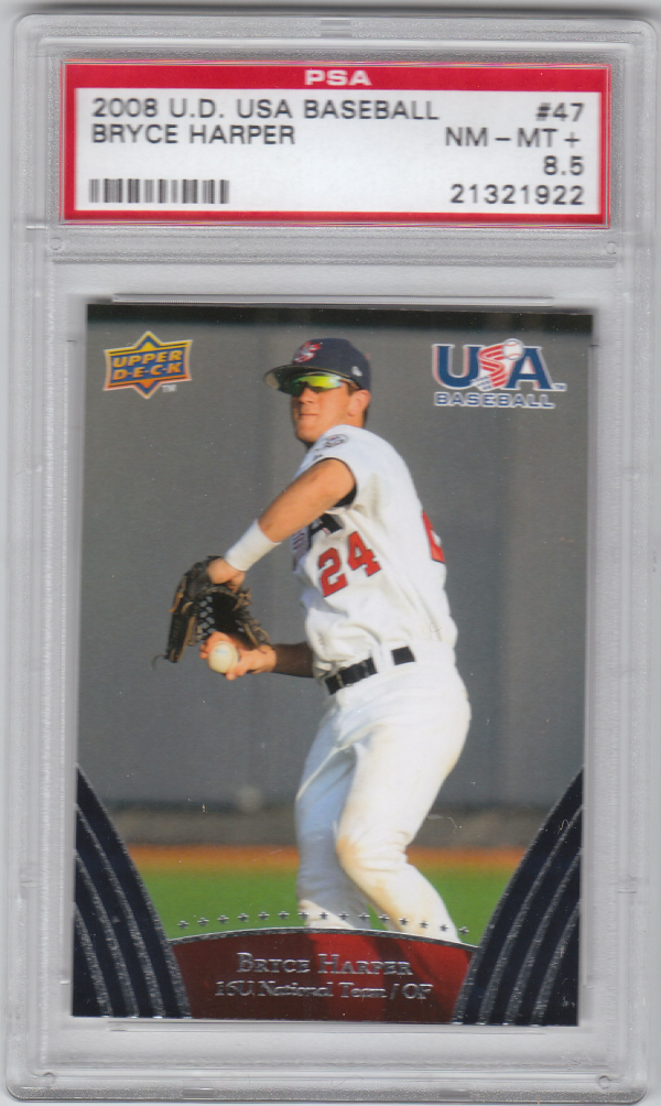 2008-09 USA Baseball #47 Bryce Harper