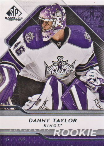 2008-09 SP Game Used #118 Danny Taylor RC