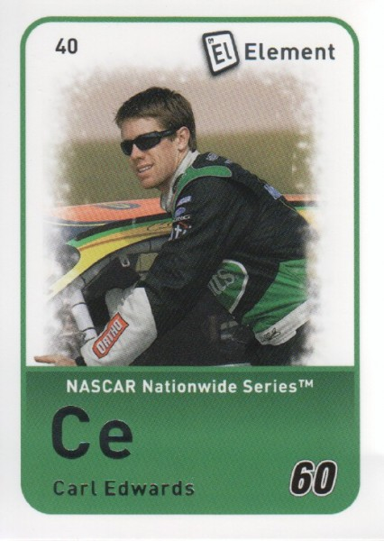 2009 Element #40 Carl Edwards NNS