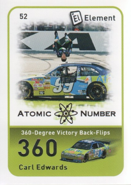 2009 Element #52 Carl Edwards AN