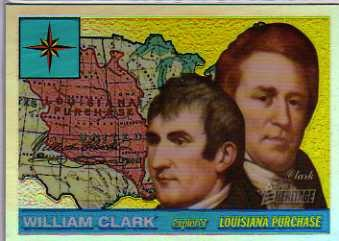 2009 Topps American Heritage Chrome Refractors #C12 William Clark