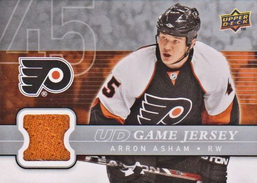 2008-09 Upper Deck Game Jerseys #GJ2AA Arron Asham