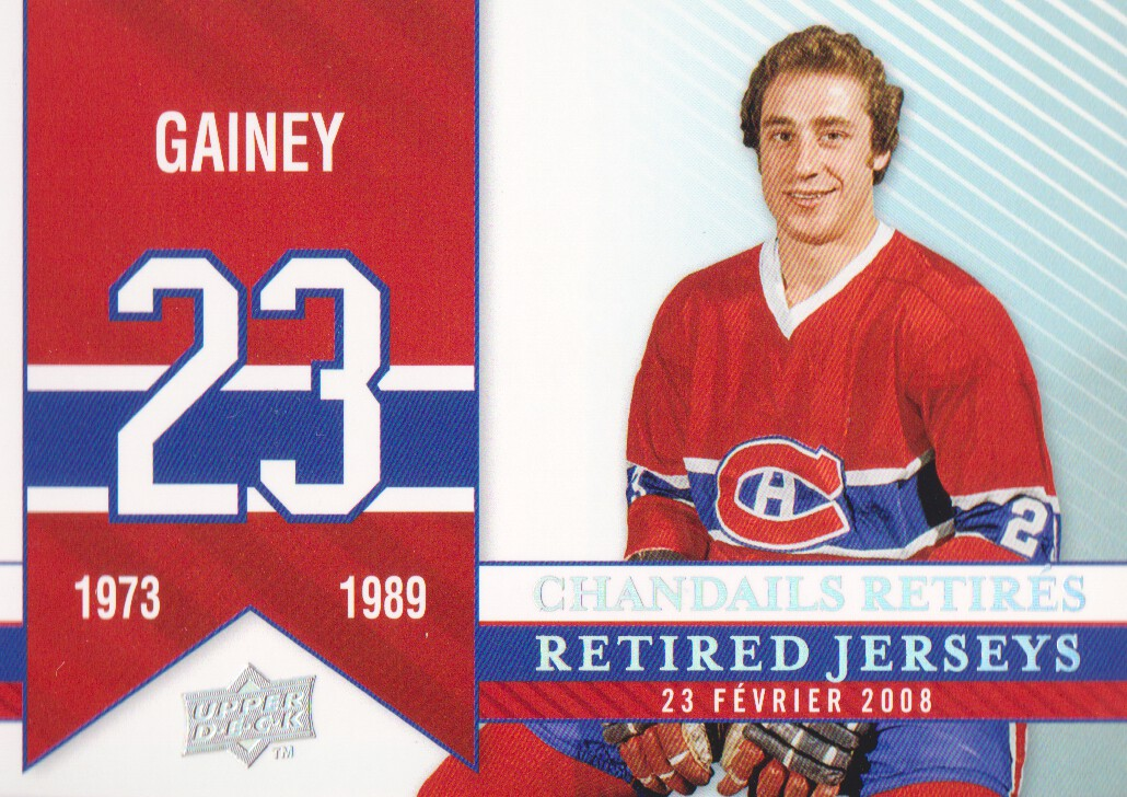 2008-09 Upper Deck Montreal Canadiens Centennial #286 Bob Gainey