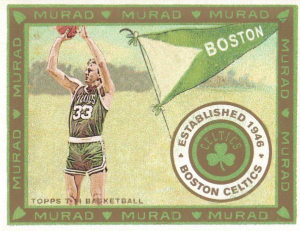 2008-09 Topps T51 Murad Mini #156 Larry Bird