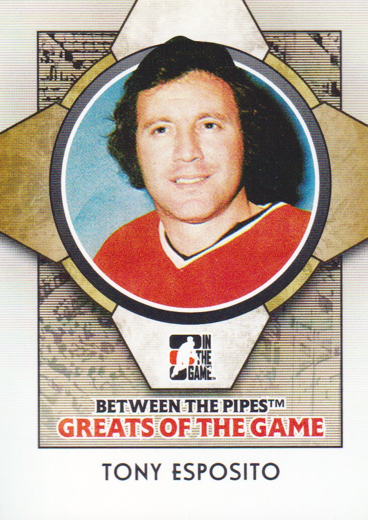 2008-09 Between The Pipes #90 Tony Esposito