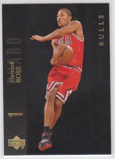 2008-09 Upper Deck Lineage SE #201 Derrick Rose
