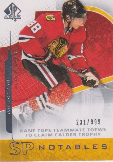 2008-09 SP Authentic #136 Patrick Kane N