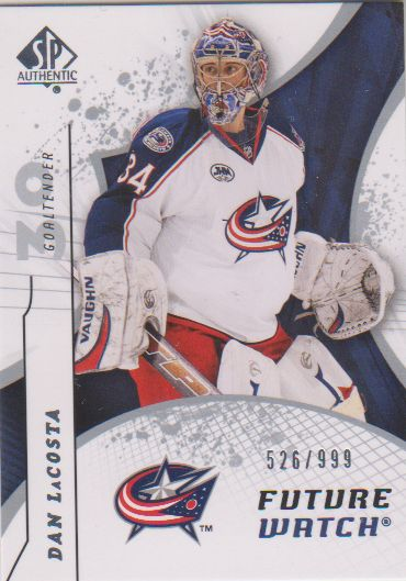 2008-09 SP Authentic #208 Dan LaCosta RC