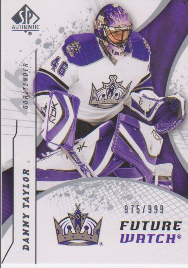 2008-09 SP Authentic #223 Danny Taylor RC